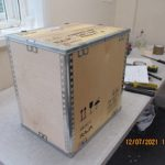 Packing is our specialist subject and inside this box is a very delicate and valuable item